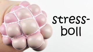 Stressboll med nät   PYSSEL DIY