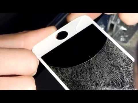 Стекло для iphone 5 как заменить