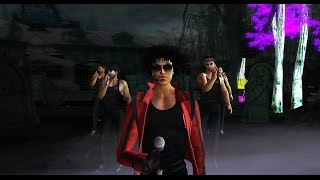 Michael Jackson at London City (London in Second Life)