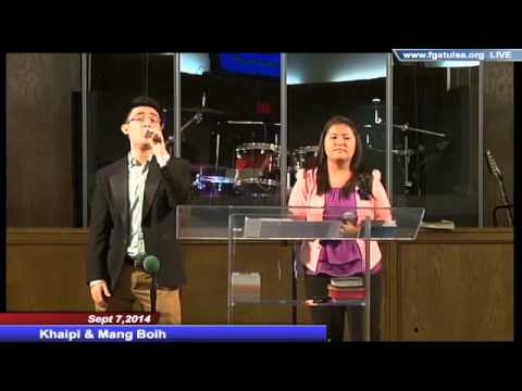 Khaipi & Mangboih Sept 7,2014 English Service