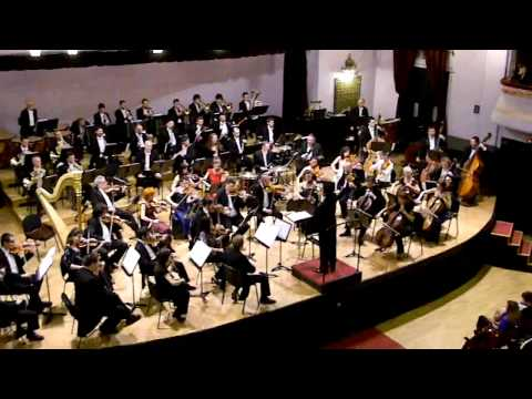 James Bond 007 theme song Shinya Ozaki symphony orchestra Marosv...
