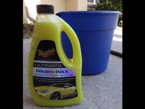 Meguiar's Ultimate Wash and Wax test review. Before and After results on 2001 Honda Prelude.