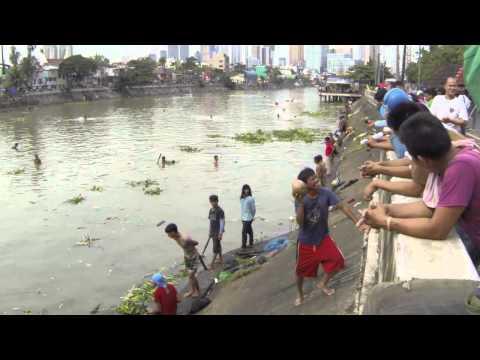 Typhoon Glenda - Pasig River Fishing (Bangus, milkfish)