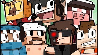 MINECRAFT BROUGHT THE GROUP TOGETHER! - Minecraft Funny Moments