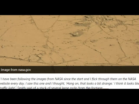 Life On Mars Oddities: 'Traffic Light' Formation and Perfectly Round Ball!