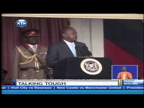 President Kenyatta promises hightened vigilance on suspected terrorists