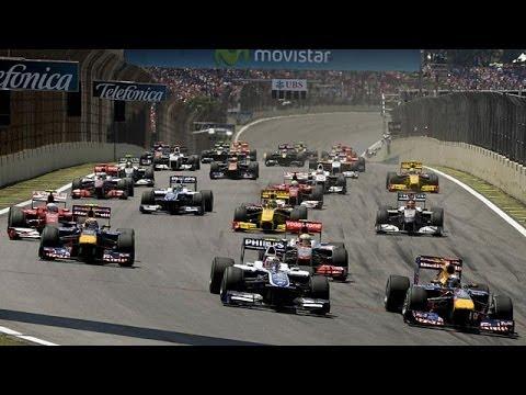 F1 2012  Brazil Grand Prix Final Race 5Laps, Vettel Codemasters [No Assist]