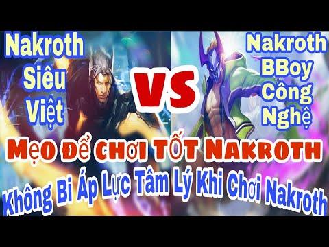 Bạn sẽ tìm lại được cảm giác chơi Nakroth sau khi xem hết Clip này! Nakroth chưa bao giờ là Yếu