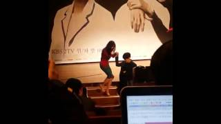 "[Fancam 2] 150211 Ku Hye Sun (구혜선) @ ""Blood"" Press Conference"