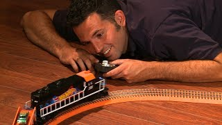 Unboxing the Lionel® Hot Wheels™ Train Set