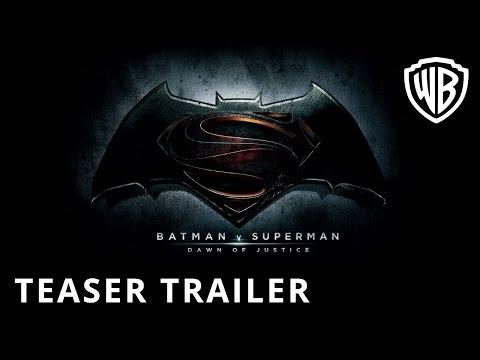 Batman v Superman: Dawn Of Justice - Teaser Trailer - Official Warner Bros. UK