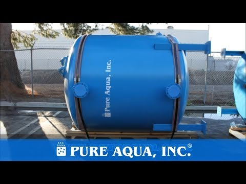 Pure Aqua| Industrial Brackish RO Plant Saudi Arabia 528,000 GPD