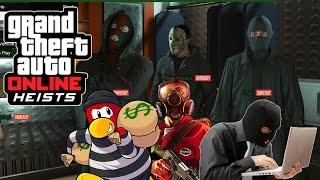 GTA 5 PC HEIST NGAKAK ABIS! (2) - Heist Bareng Kru GRAGAS Dari DOTA 2! WKAWKAKAKAKAK