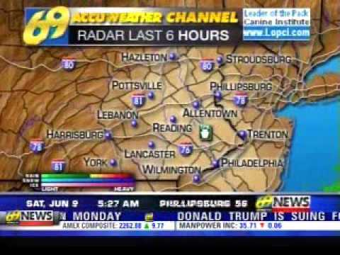 Weather Channel Songs on WFMZ 69 Accuweather 69 #8