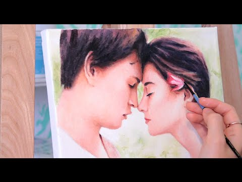The Fault in Our Stars ☆ Painting Augustus & Hazel ☆