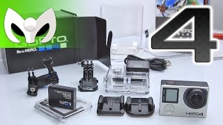 Unboxing GoPro Hero4 Black Edition (ESPAÑOL) La Negra