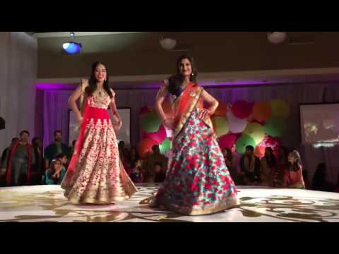 Sisters Dance on bollywood songs    new Wedding Reception dance  2017 thumbnail