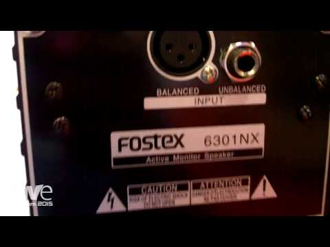 InfoComm 2015: Fostex 6301 Series Powered Monitor