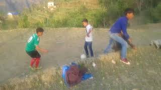 Footbal in Village
