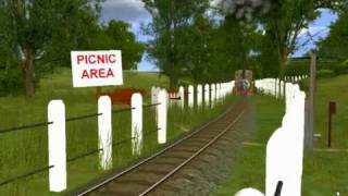 A Look at the Skarloey Railway TV Series Trainz Route