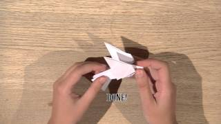 How To Make An Origami Fugl (vinterlyd)