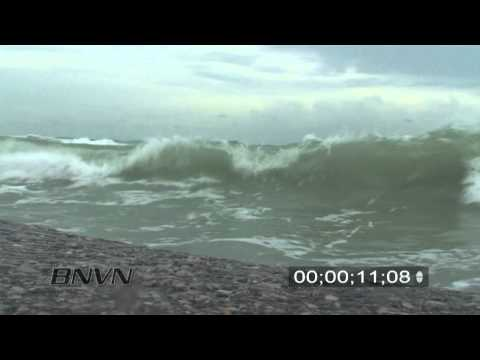 9/10/2008 Hurricane Ike POV Wave Surge Video, Siesta Key Florida