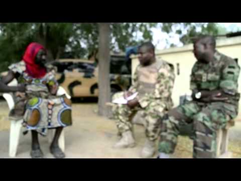 MNJTF Soldier Debriefing: Alleged Boko Haram Member Disguised As Woman Was A Nigerian Soldier