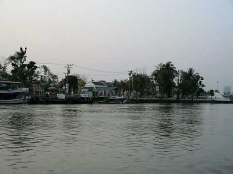 A ride past Ko Kret on the Chao Phraya Express boat.
