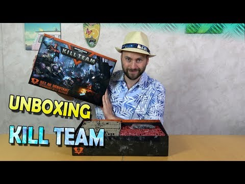 Unboxing preview  KILL TEAM 2018 en Français VF