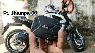 TKSTAR GPS Bike and Car Tracker -Ft. Jhampa 66 |  Setup, Demo and review | Roch Vlogs |