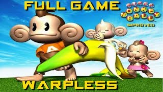 Super Monkey Ball ALL LEVELS: Warpless & Improved