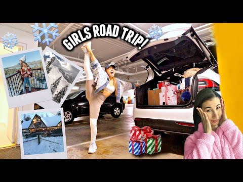 GIRLS ROAD TRIP TO BIG BEAR! *packing, no fuel or service & the journey* | Vlogmas Day 2