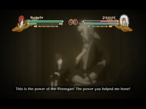Storm 3 Nagato Combo Ultimate and Nagato/Jiraiya Secret Factor