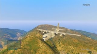 Grand Theft Auto V: How To Steal C-130 Titan Military Plane