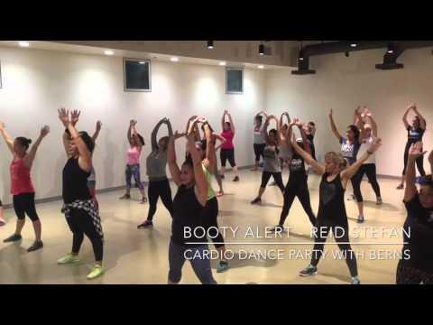 Booty Alert- Reid Stefan    Cardio Dance Party with Berns thumbnail