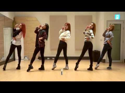 開始Youtube練舞:Hot Pink-EXID | 鏡像影片