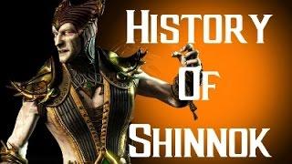 History Of Shinnok Mortal Kombat X