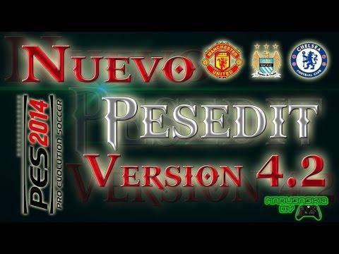 Descarga e Instala PESEdit 4.2 + DLC 5.0 + PATCH 1.12 - PES 2014 PC -