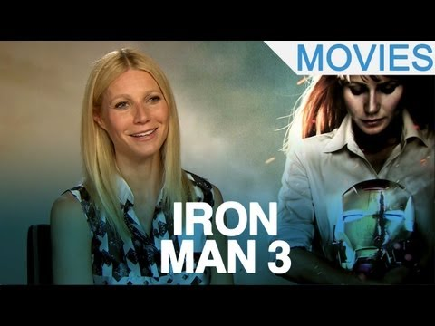 'Iron Man 3' Gwyneth Paltrow on Pepper kicking ass