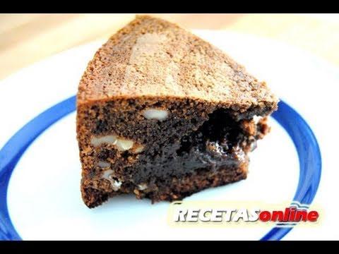 ★ Brownie de chocolate con nueces - Recetas de cocina RECETASonline