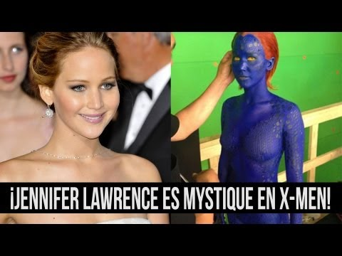 ¡Jennifer Lawrence es Mystique en X-Men!