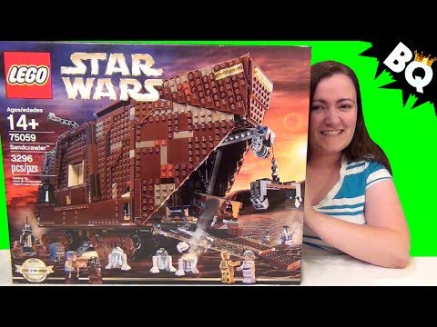 LEGO Star Wars UCS Sandcrawler 75059 Build & Review