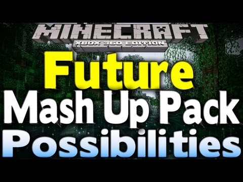 Minecraft Xbox 360 - FUTURE MASH UP PACK POSSIBILITIES (Star Wars, Skyrim, Borderlands & More)