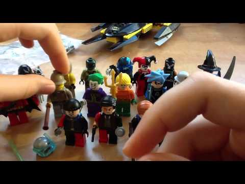 Lego Batman Minifigure Collection обзор на русском.