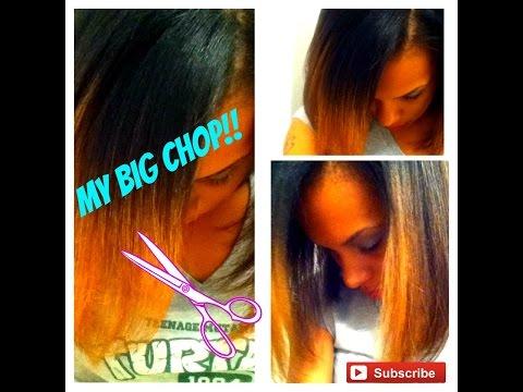 My BIG CHOP!