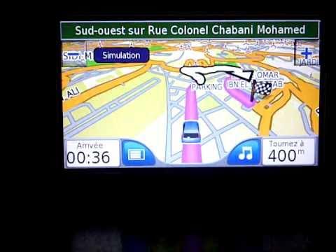 le GPS en Algérie par GARMIN ALGERIE.3GP