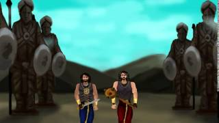 Baahubali the conclusion anime fan made motion title