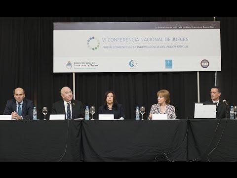 VI Conferencia Nacional de Jueces: panel Celeridad en los procesos