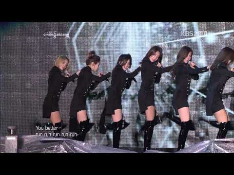 소녀시대(snsd)-run Devil Run.hoot.아송페.111105 video