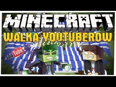 Minecraft Walka Youtuberow! - MULTI VS NILUX - Minecraft Spleef Rap! #2